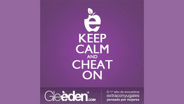 Keep calm and cheat on